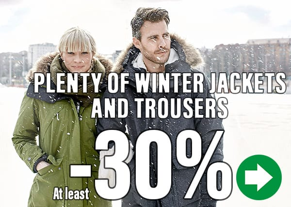 Winter Clothing -30%